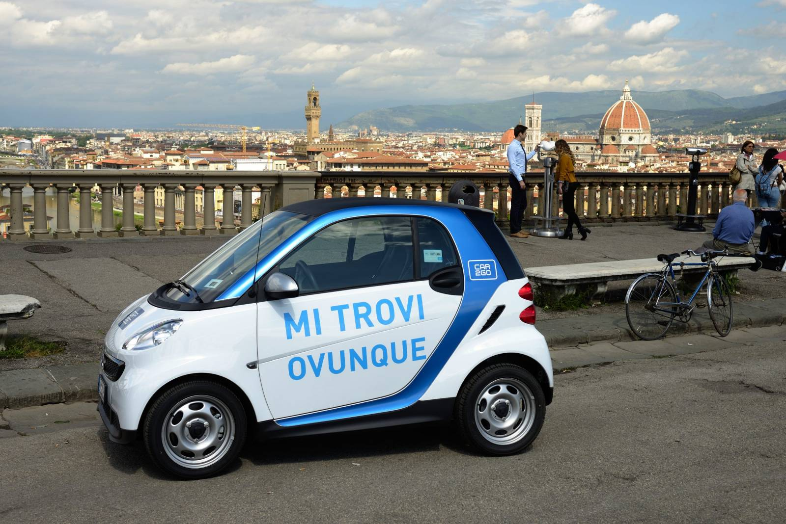 Car2Go a Firenze.