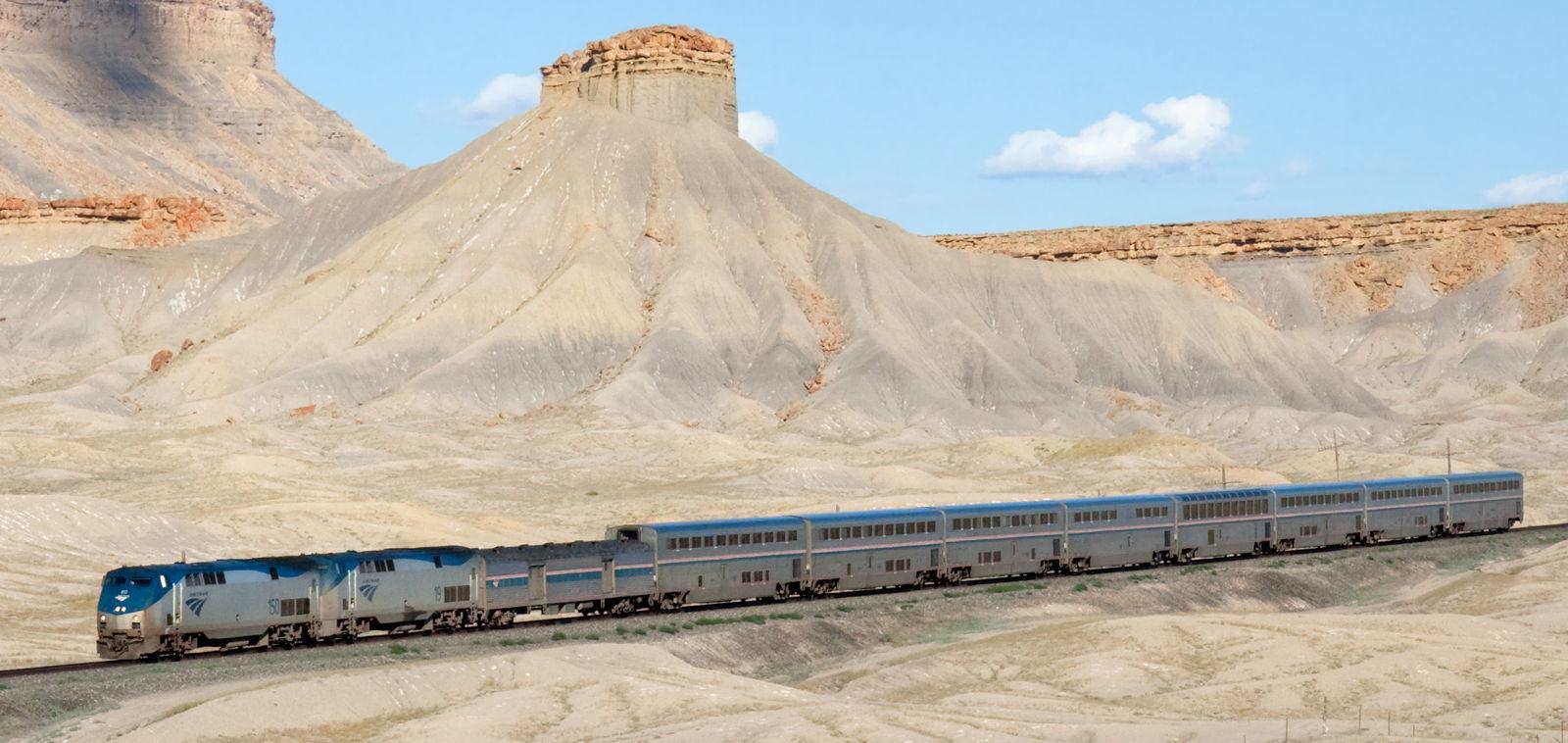 Stati uniti coast to coast in treno per 136 dollari for California chiude l utah