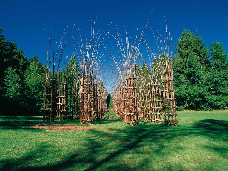 Arte all 39 aria aperta dieci parchi dove la scultura - Arte e giardino ...