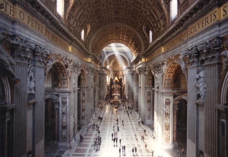 Che Cosa Vedere Nella Basilica Di San Pietro In Vaticano