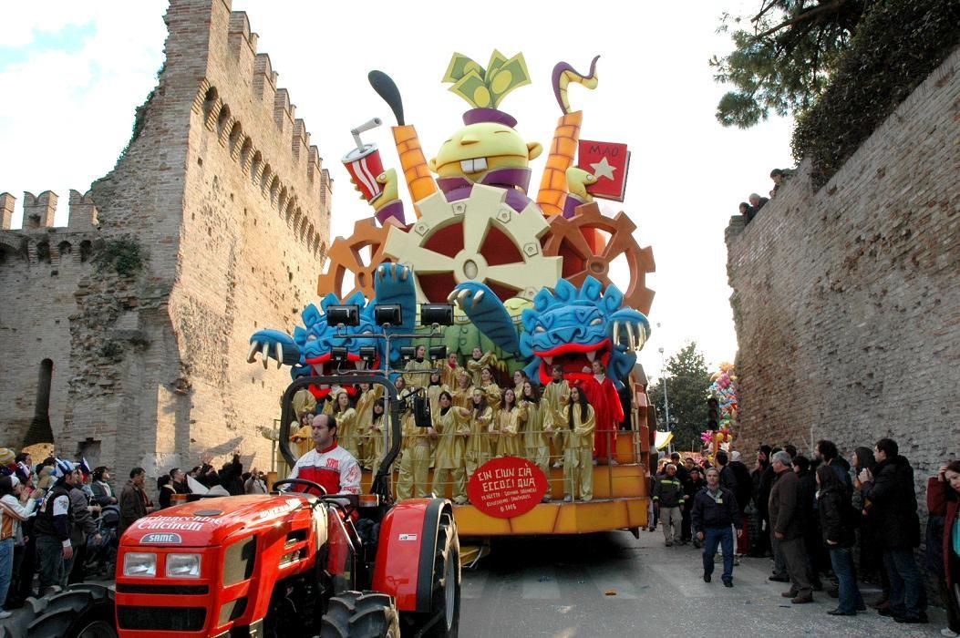 I carnevali pi belli d 39 italia con tutte le date 2017 for Idee per carri di carnevale semplici