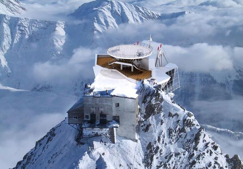 Aperta la nuova funivia al Monte Bianco: porta a 3466 metri
