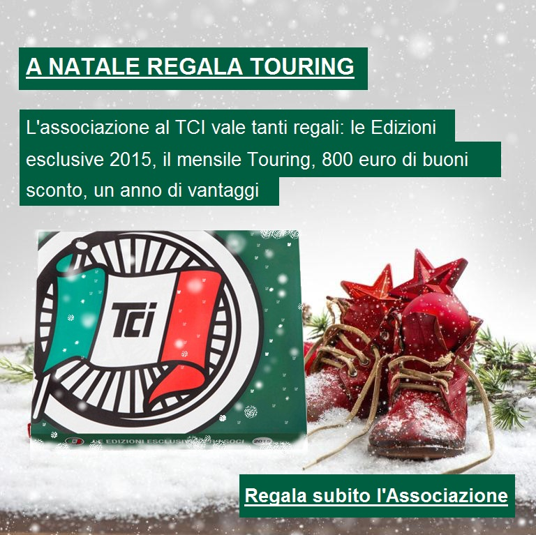 A natale regala Touring