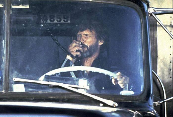 Kris Kristofferson alias Anatra di gomma in Convoy.