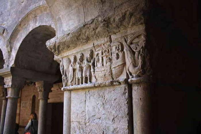 Storie della Bibbia, chiostro della Cattedrale di Girona
