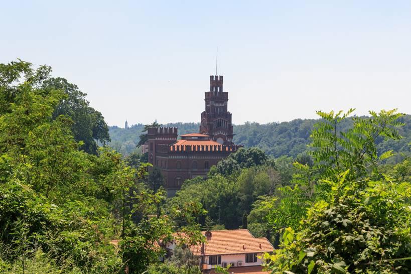 Castello di Crespi della città industriale