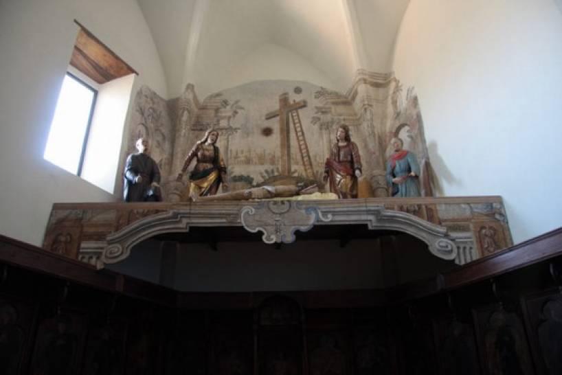 gruppo scultoreo attribuito a Giovanni da Nola