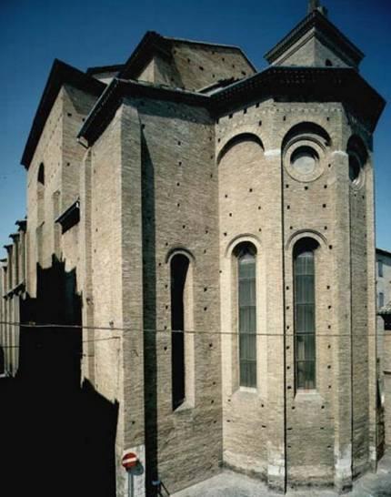 L'abside della Basilica di San Giuseppe da Copertino, Osimo (An)