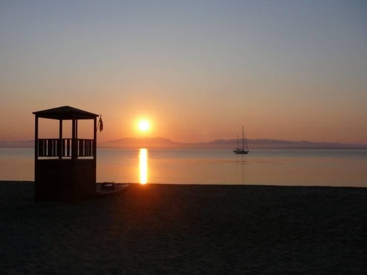 il veliero sospeso. Isola di Sant'Antioco, Sardegna