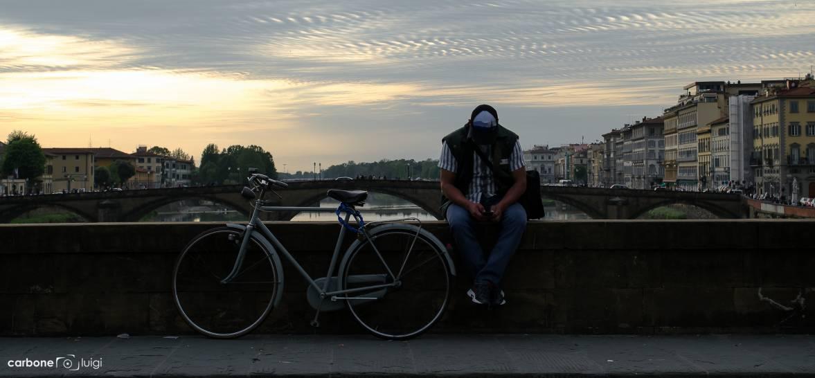 Arrivo presto, due pedalate! Firenze.