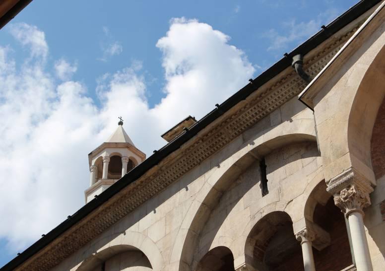 Il Duomo, il cielo: Modena