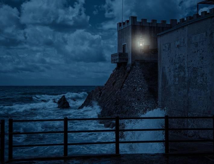 Il cielo notturno di Genova