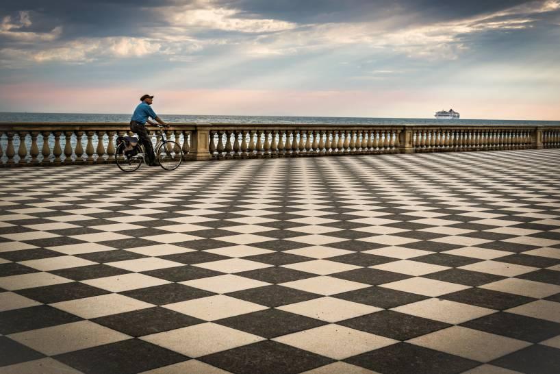 Passeggiando in bici