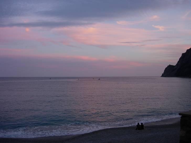 tramonto a Monterosso