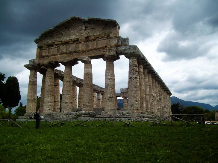 I cieli di Paestum parlano di antichità!