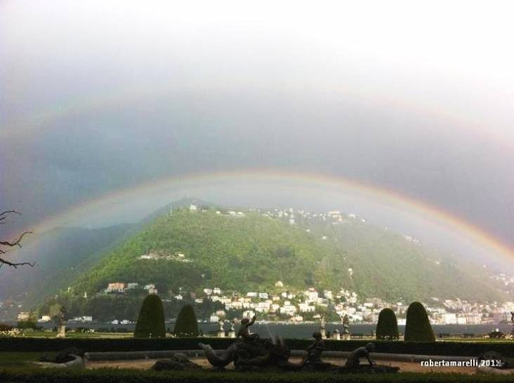 Brunate in arcobaleno