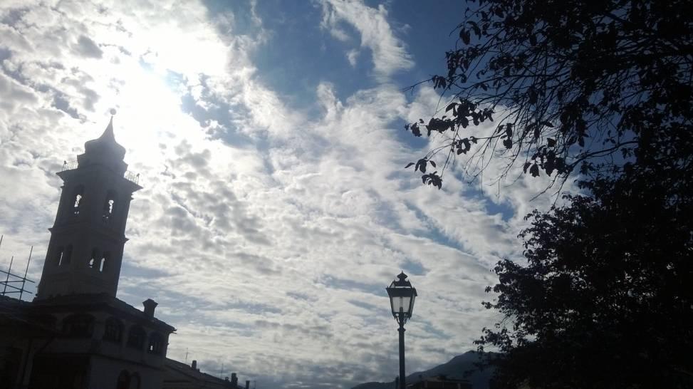 Lenzuolo di nuvole
