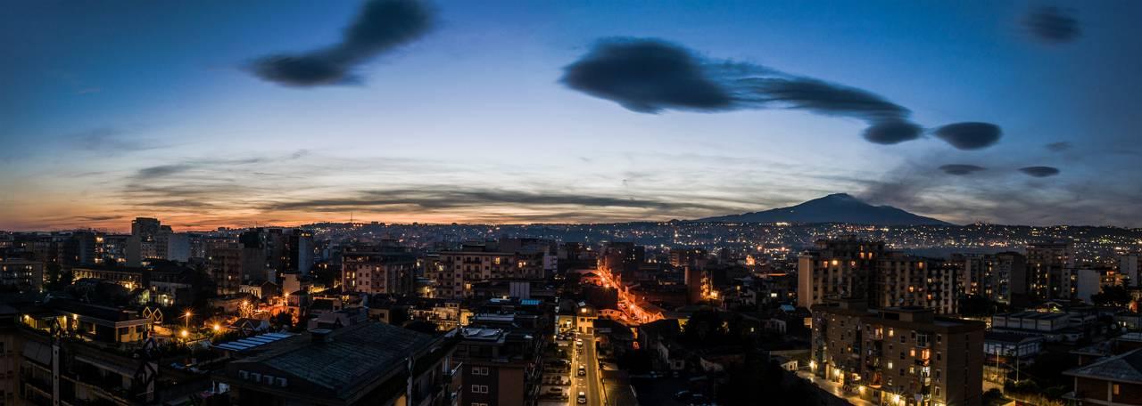 Tramonto su Catania