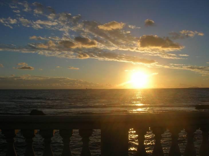 Cielo e mare dalla Terrazza Mascagni