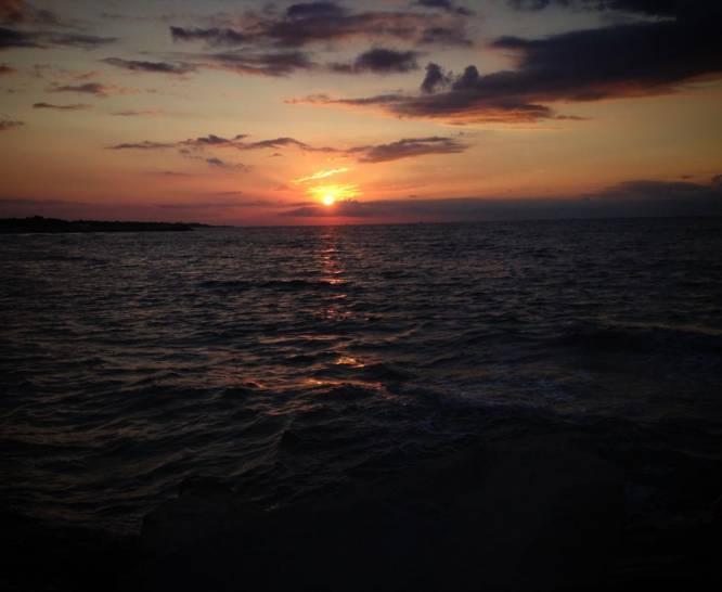 L'alba a Cà Savio (Venezia)