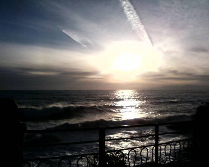 tramonto a Nervi