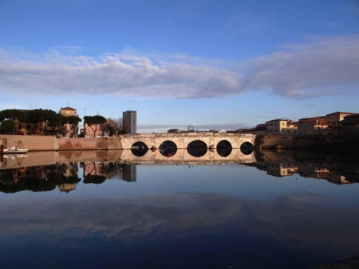 Rimini - Il ponte di Tiberio