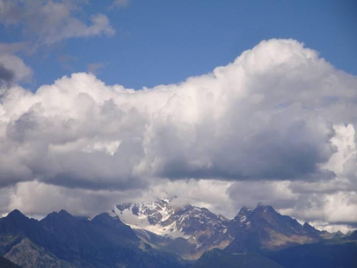 Cielo sul monte Disgrazia