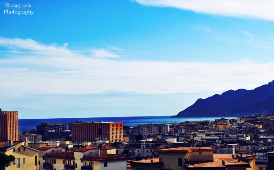 il cielo di Salerno