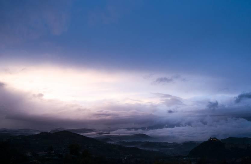 Il cielo di Arpino