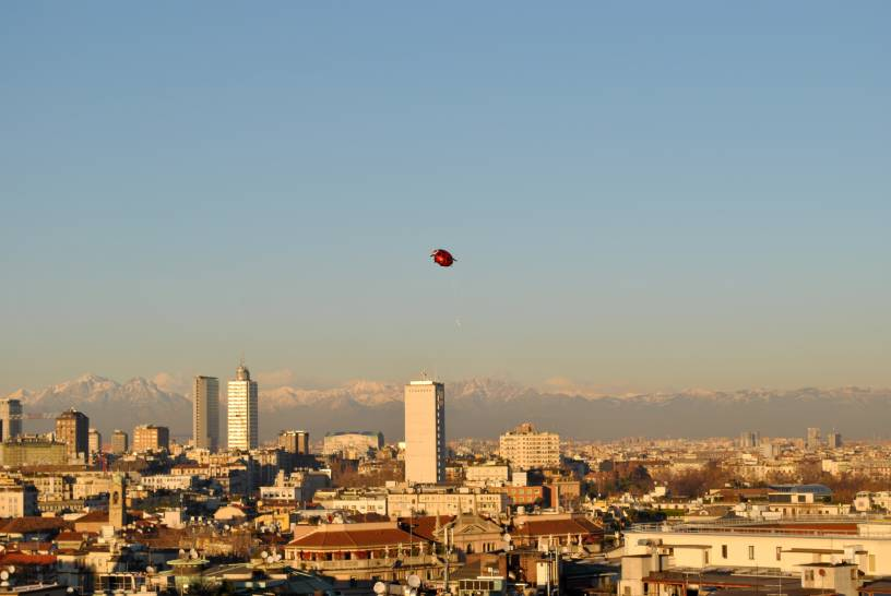 Tramonto su Milano