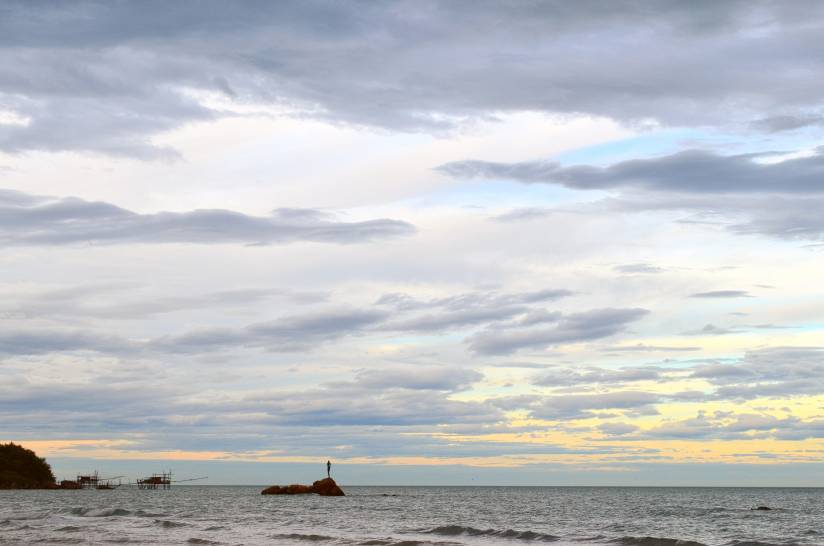 Atmosfera sul mare