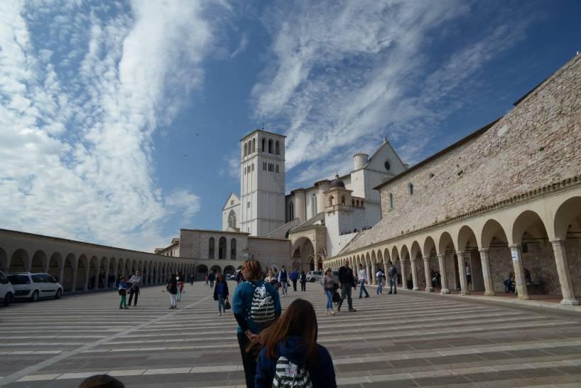 Assisi, basilica di S. Francesco
