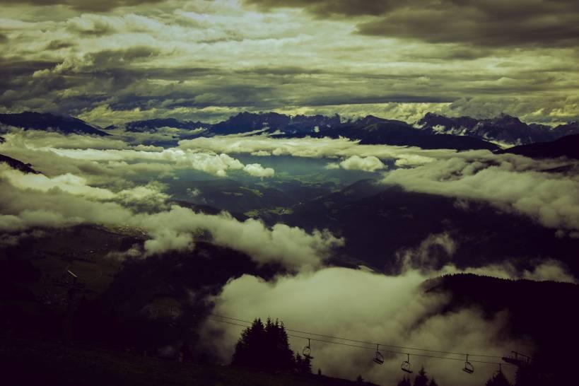 Il cielo della Val Pusteria
