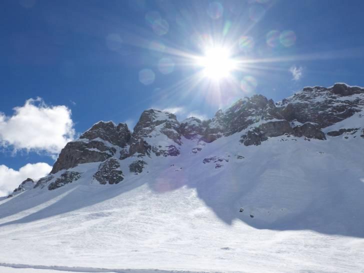 L'inverno delle Dolomiti.