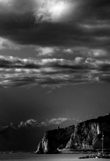 cielo in bianco e nero