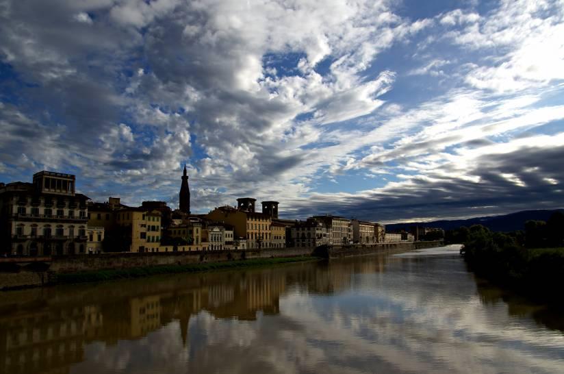 Rifllessi sull'Arno