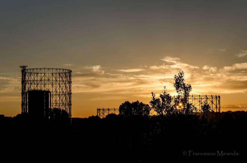 Industria... al tramonto