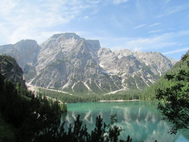 Il cielo del lago di Braies