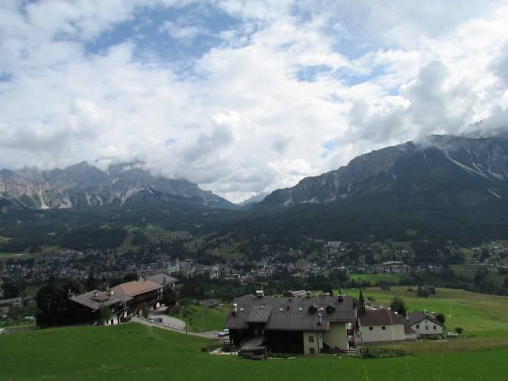 Il cielo di Cortina d'Ampezzo