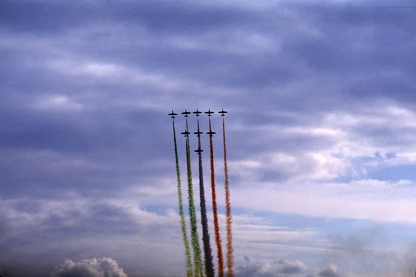 Cieli tricolori - Ferrara 27 sett.2008