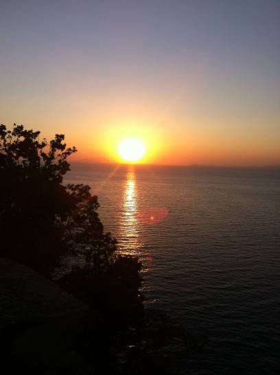 tramonto  da Vico Equense