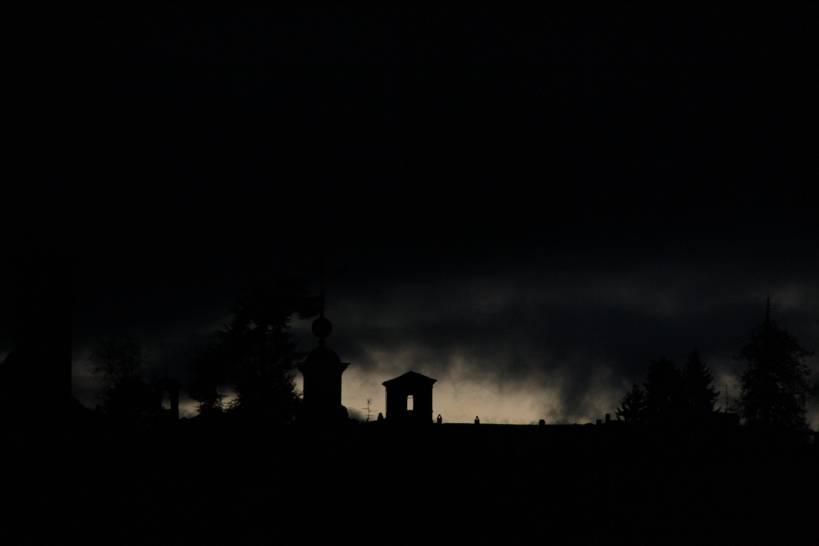 L'oscurità avvolge Biella Piazzo