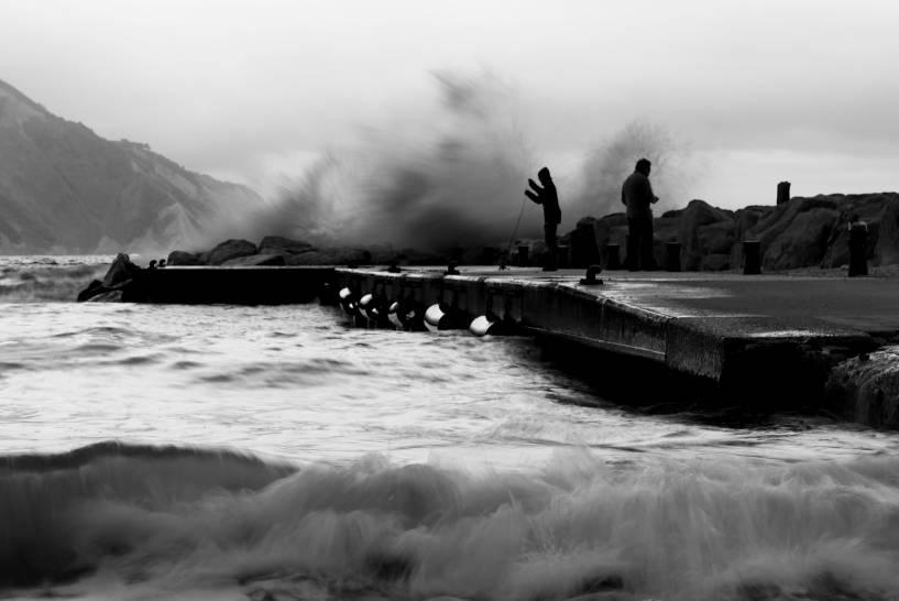 Pescatori sul Molo