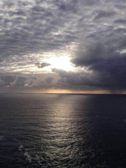 Nuvole sul cielo di Capri