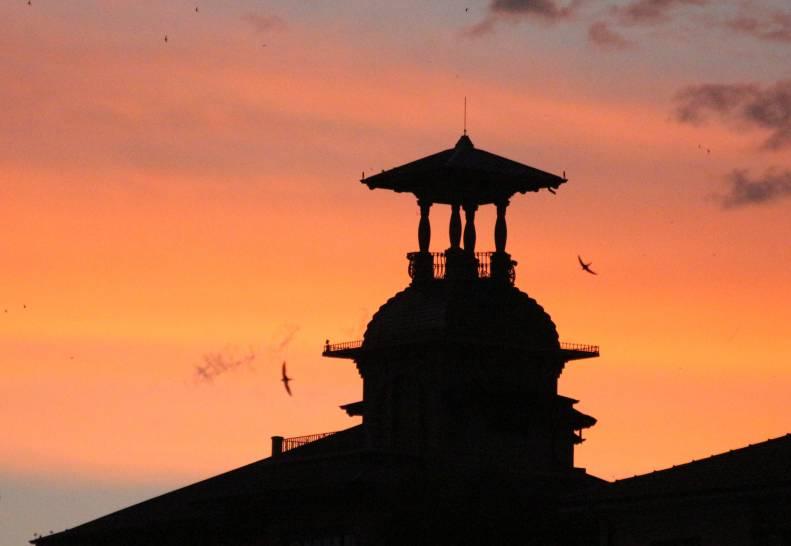 Villa Grock al tramonto
