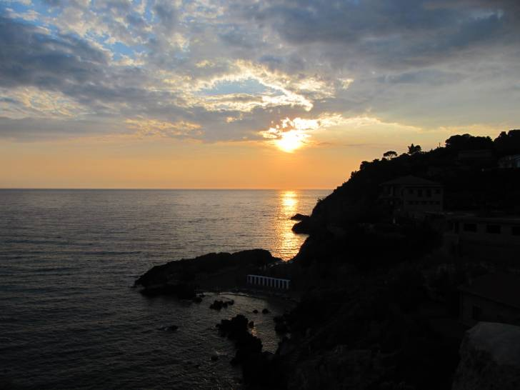 tramonto a Talamone (GR) - Italy