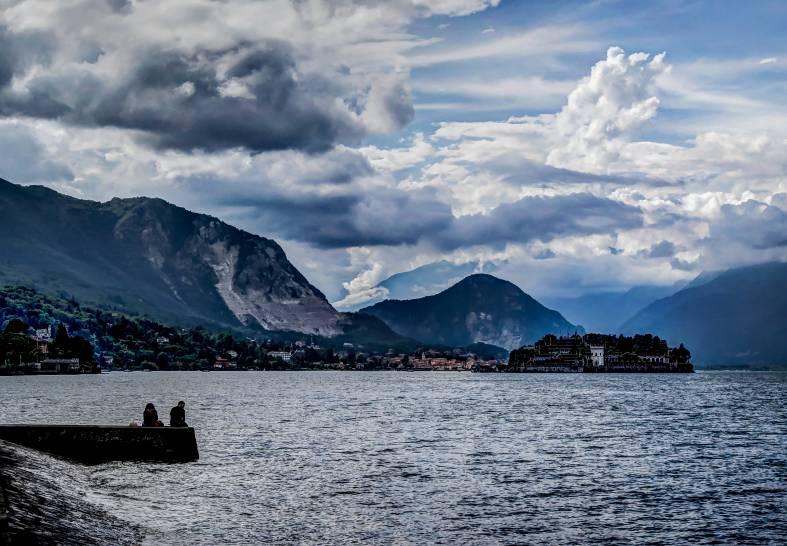 Nubi su Stresa, Lago Maggiore