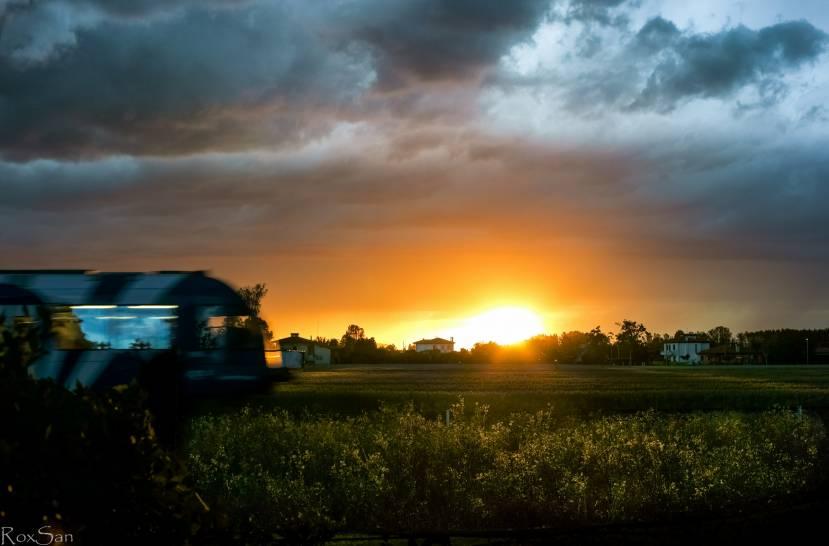 Littorina al tramonto