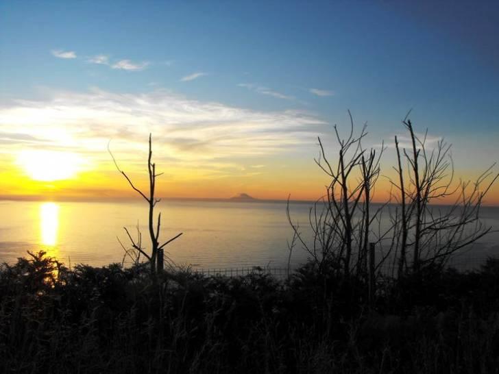 Lo Stretto di Messina e l'Isola di Vulcano