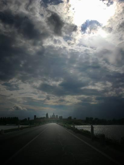 Luce su Mantova